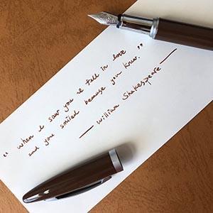 ARTEX life開心鋼筆-吾愛 -送客製化刻字-需5-7個工作天
