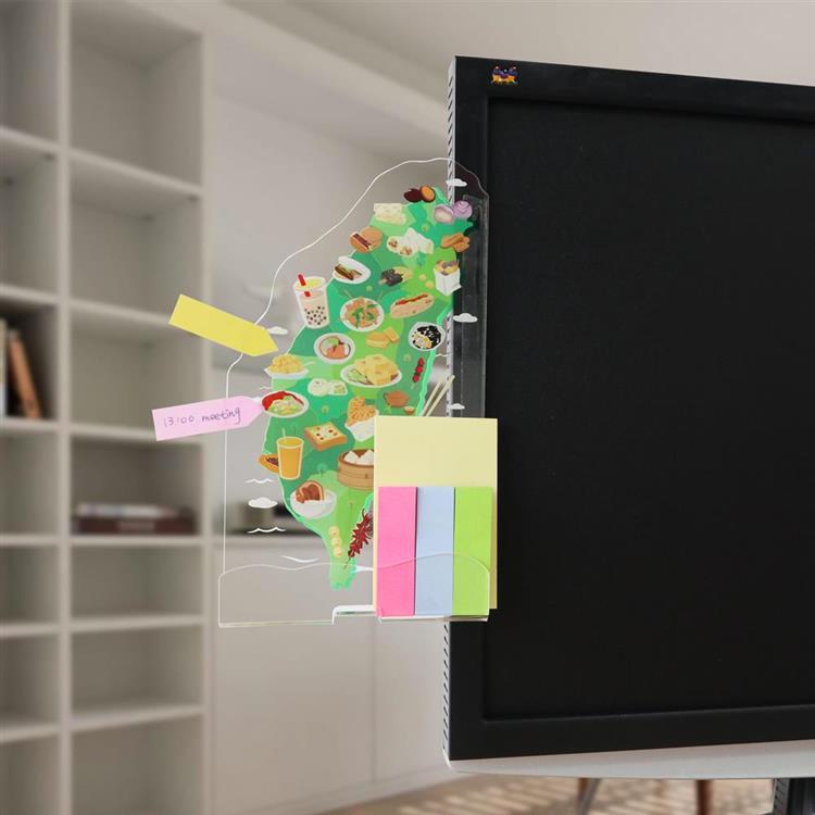 【OSHI歐士】電腦螢幕側邊留言板-六款任選/側邊留言板/留言備忘版/螢幕留言板/便利貼留言板
