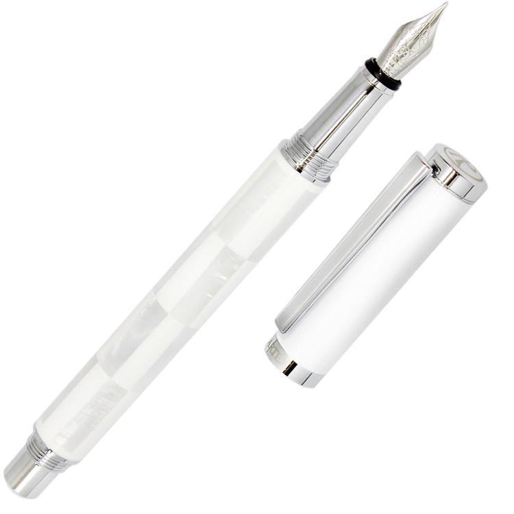 ARTEX 安格斯白雪款貝殼鋼筆
