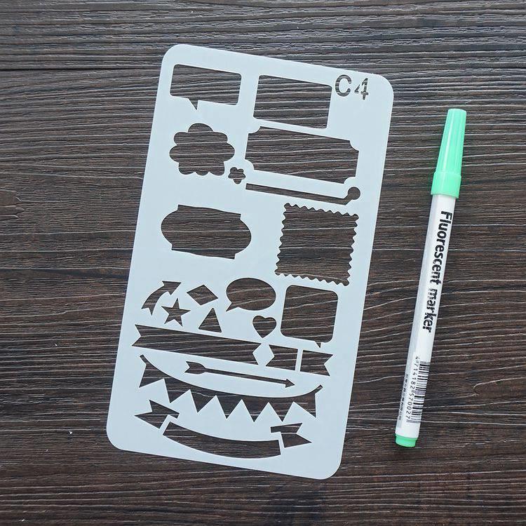 手帳塗鴨板-C4標題對話框