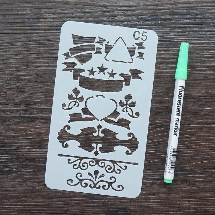 手帳塗鴨板-C5花樣標題