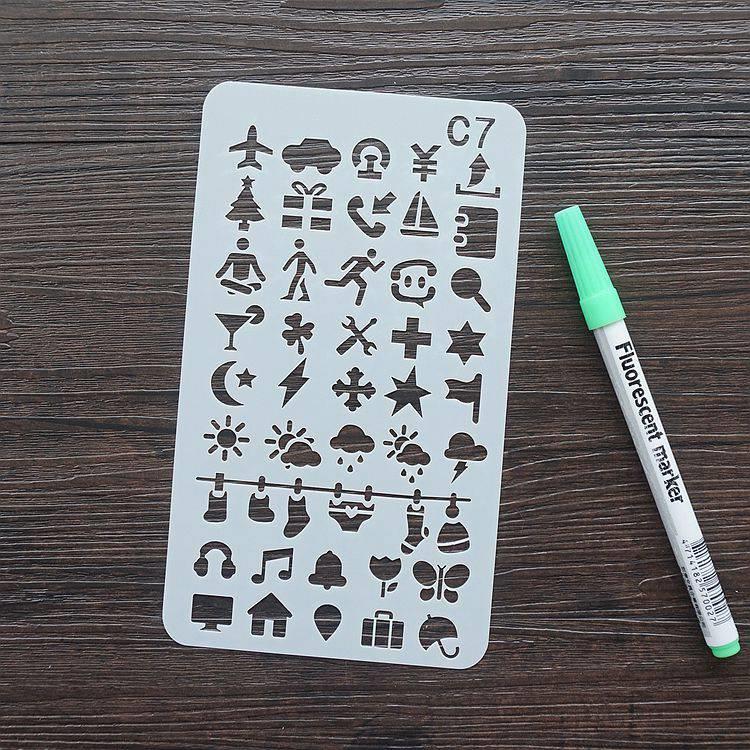 手帳塗鴨板-C7日常符號