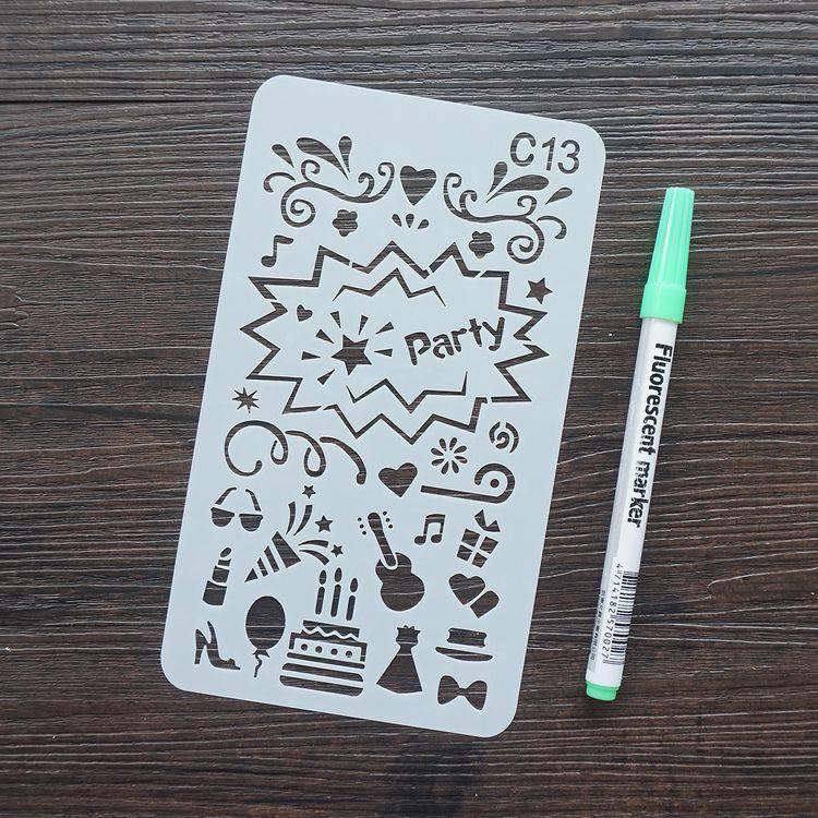 手帳塗鴨板-C13派對