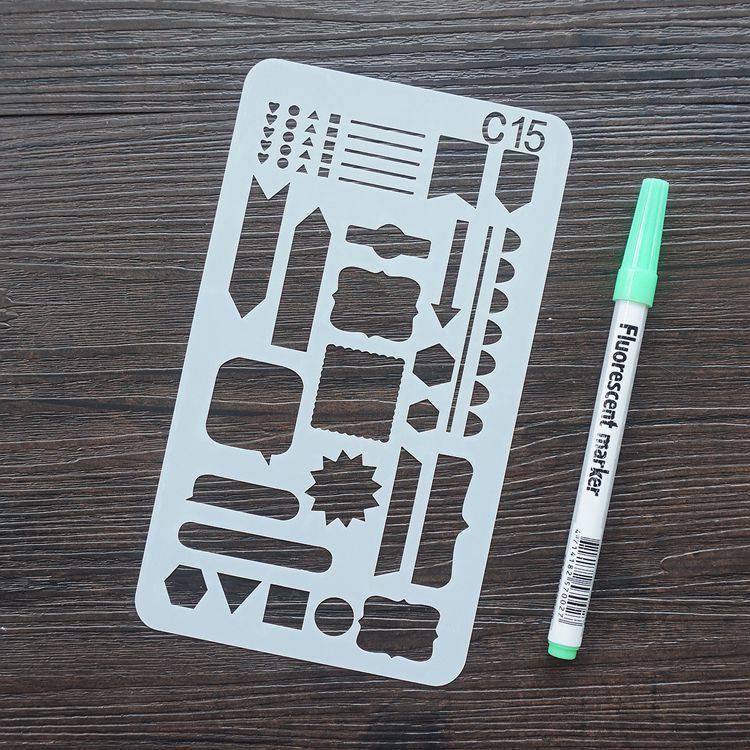 手帳塗鴨板-C15標題項目