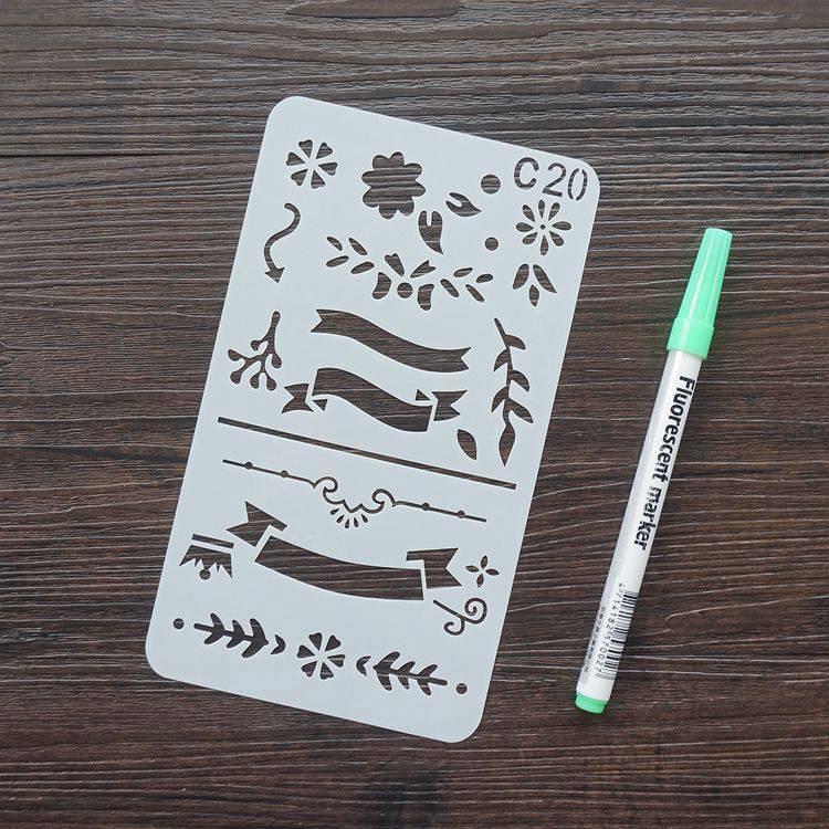 手帳塗鴨板-C20花邊標題