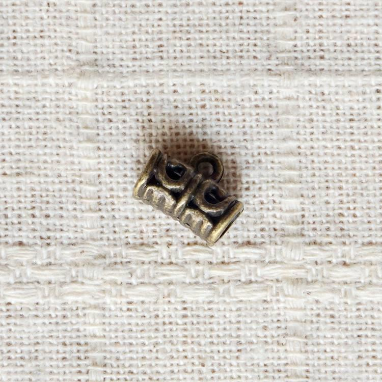 古銅飾品配件-項鍊連接頭(6入/組)