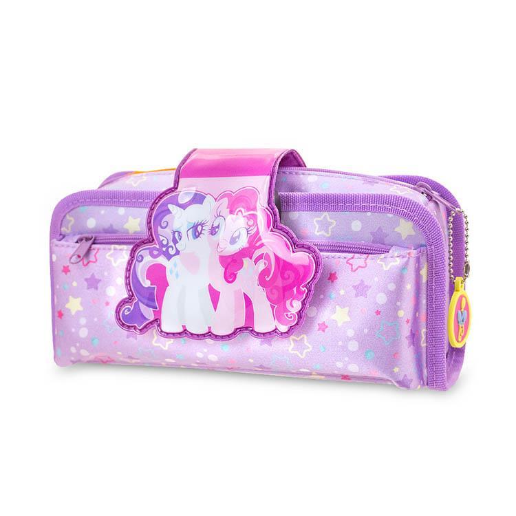 Tiger Family 聯名款FunTime2合1鉛筆盒-彩虹小馬-珍奇 &碧琪