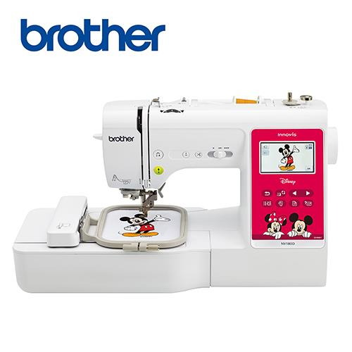 日本[brother]NV-180D電腦迪士尼刺繡縫紉機