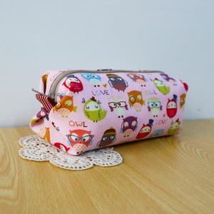 手縫ok!-土司化妝包(簡易拼布材料包)