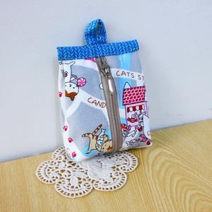 手縫ok!-牛奶盒零錢包(簡易拼布材料包)