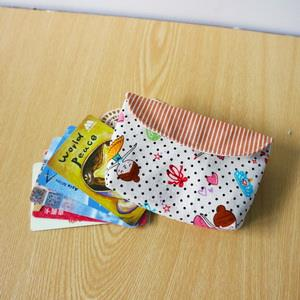 手縫ok!-卡片收納袋(簡易拼布材料包)