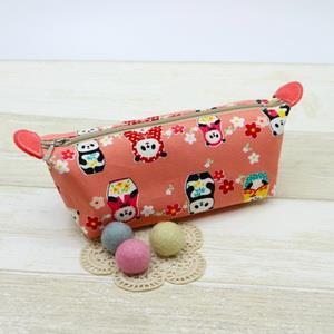 手縫ok!-船形化妝包(簡易拼布材料包)