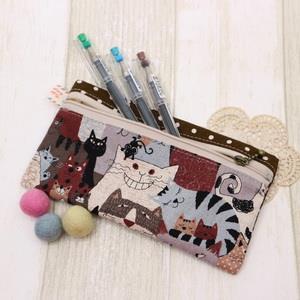 手縫ok!-信封式筆袋(簡易拼布材料包)