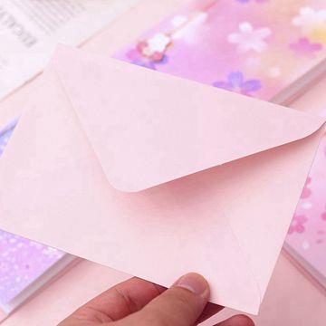 櫻花吊墜書籤附萬用卡D.紫櫻