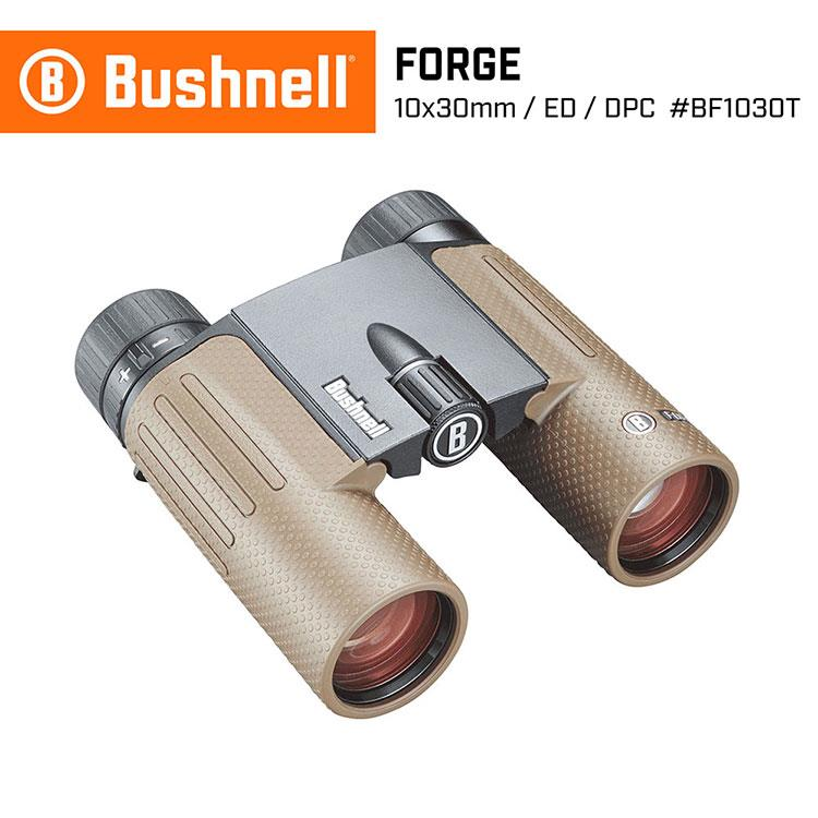 【Bushnell】Forge 精鍛系列 10x30mm ED螢石輕便型雙筒望遠鏡 BF1030T
