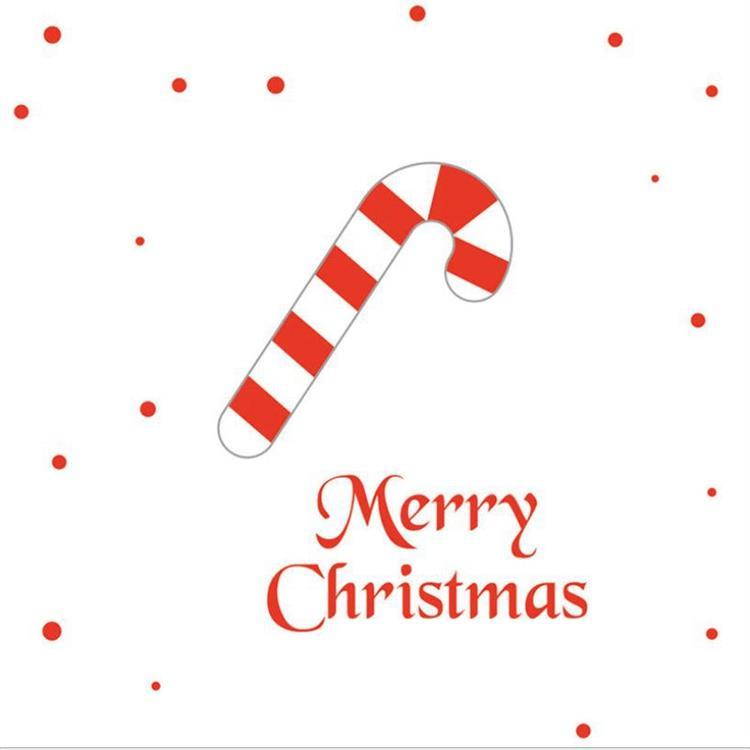 三折鏤空聖誕小卡D.拐扙糖