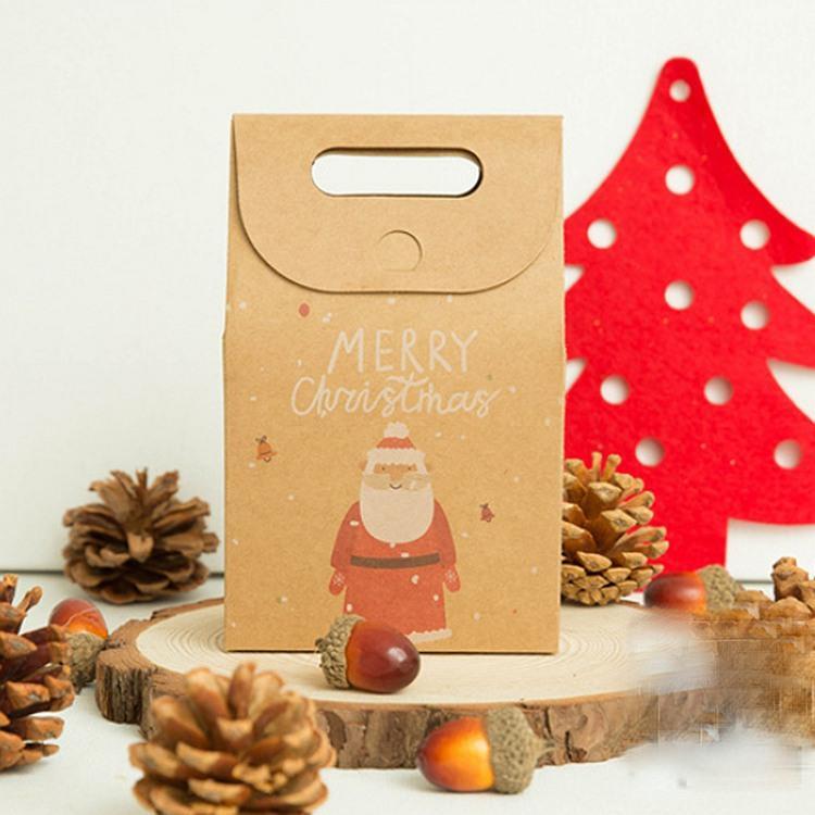 牛皮聖誕禮品袋A.聖誕老人