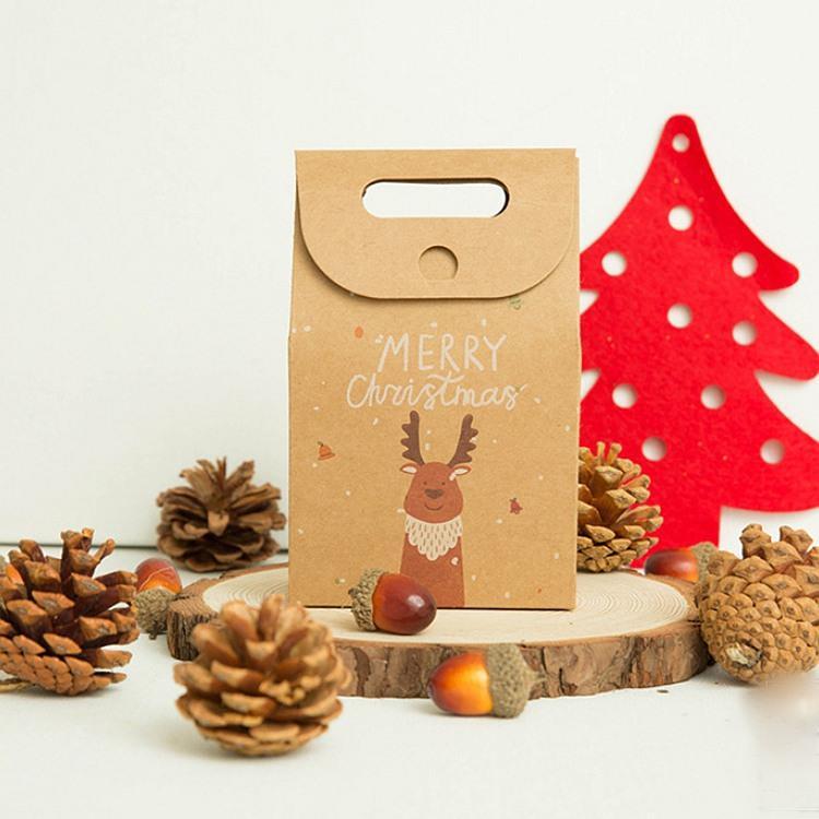 牛皮聖誕禮品袋B.麋鹿