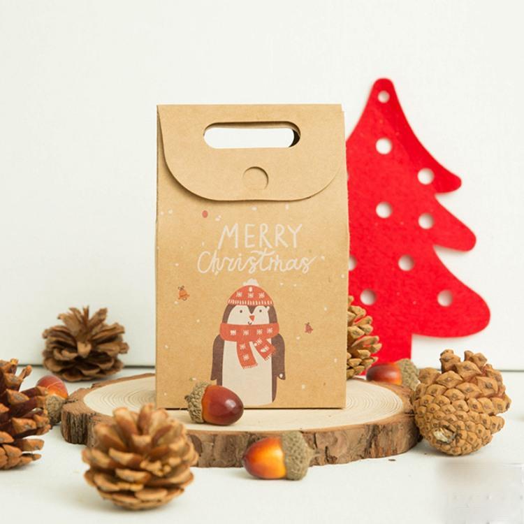 牛皮聖誕禮品袋D.企鵝
