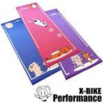 【 X-BIKE 晨昌】環保無毒-卡通造型瑜珈墊 三件組