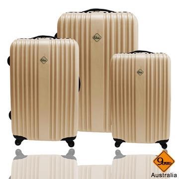Gate9 五線譜系列ABS輕硬殼行李箱兩件組-(28+20)吋