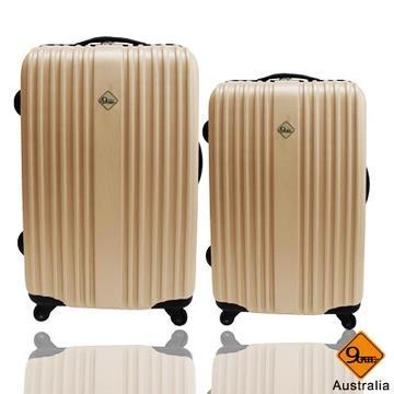Gate9 五線譜系列ABS輕硬殼行李箱兩件組-(28+24)吋