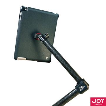 JOY Valet 磁吸式 iPad Air 滑軌固定式碳纖維L型車用架MMA205