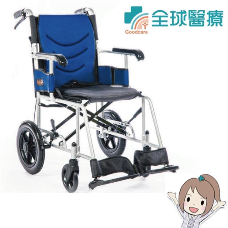 均佳 機械式輪椅(未滅菌) 鋁合金製 JW230
