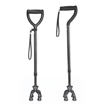 均佳手杖(未滅菌) 碳纖維四腳柺