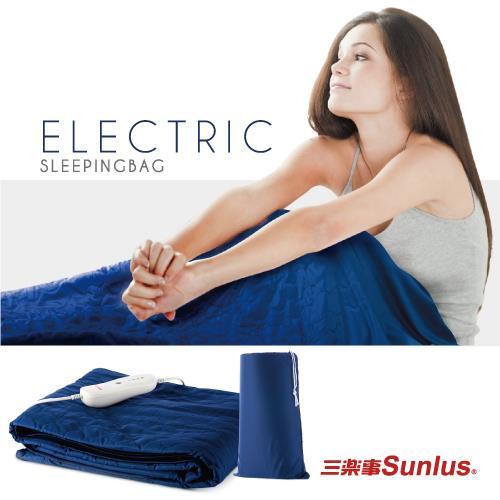 Sunlus三樂事睡袋型舒眠電熱毯SP2403BL