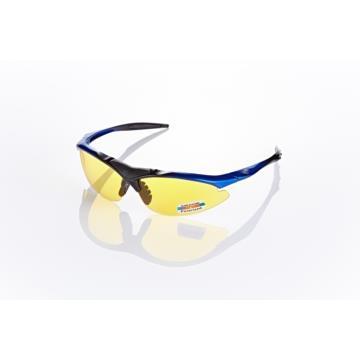 視鼎Z-POLS 頂級黑藍漸層太空纖維TR90材質輕量框體 搭夜用增光黃抗UV400頂級偏光太陽眼鏡