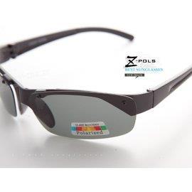 【視鼎Z-POLS專業釣客、出遊必備款】帥氣黑100%Polarized偏光抗UV400太陽眼鏡