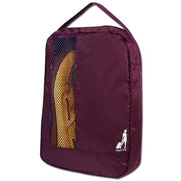 超值2入-《旅行玩家》 旅行收納鞋袋(葡萄紫)