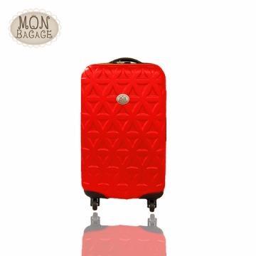 【MON BAGAGE】☆莎莎代言☆ 金磚滿滿ABS輕硬殼行李箱20吋