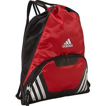 Adidas 團隊速度運動後背-大學紅色【預購】
