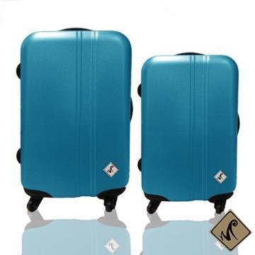 行李箱|24+28吋【Miyoko】條碼系列ABS輕硬殼旅行箱