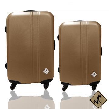 行李箱|24+28吋【Miyoko】簡約系列ABS霧面輕硬殼旅行箱