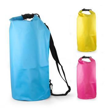15L大容量 防水運動筒型背包