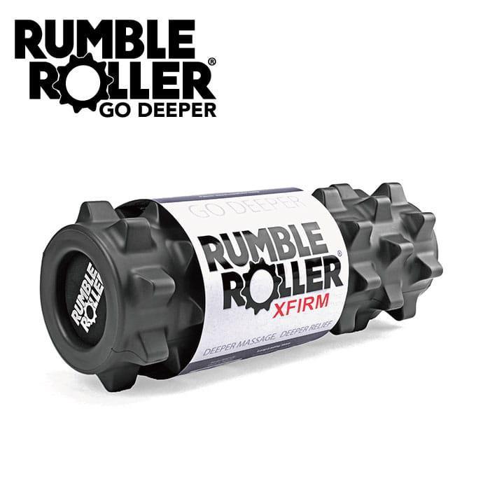 Rumble Roller 狼牙棒深層組織按壓放鬆滾輪_黑色加強版 12吋短