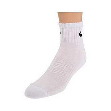 Nike 2015女時尚白色1/4低切運動短襪6入組