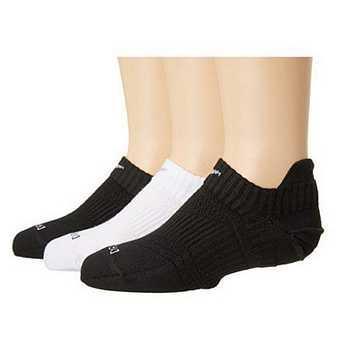 Nike 2016女輕質DriFit混搭黑白低切運動襪3入組