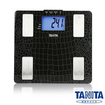 日本TANITA強化玻璃藍光LCD體脂計UM-041~高貴黑~