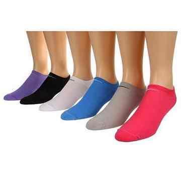 Nike 女舒適超炫馬卡龍混搭運動短襪6件組