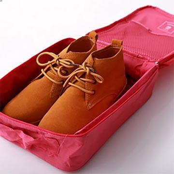 DINIWELL日韓收納鞋袋(可手提)-深藍