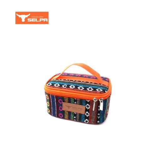 韓國 Selpa 民族風萬用收納包