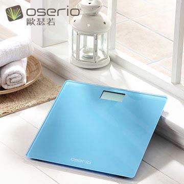 oserio 歐瑟若 BLG-261 玻璃數位體重計(三色可選)