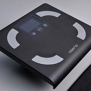 oserio 歐瑟若 FFP329A 中文體脂計(黑色)