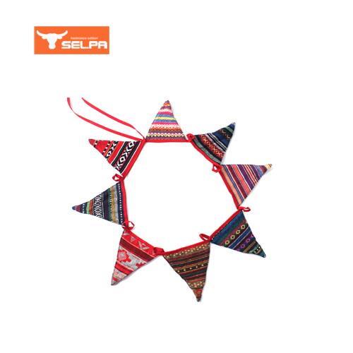 韓國 Selpa 民族風三角旗 8片