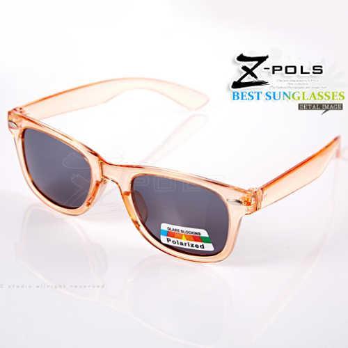 【視鼎Z-POLS兒童流行風格款】 複刻版柳釘設計 嚴選古著POLARIZED偏光UV400太陽眼鏡