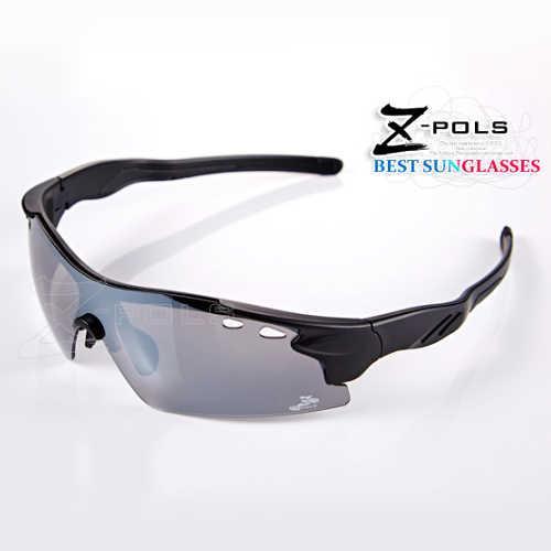 【視鼎Z-POLS新一代運動款】新一代TR太空纖維彈性輕量材質 一片式水銀電鍍帥氣設計頂級運動眼鏡!